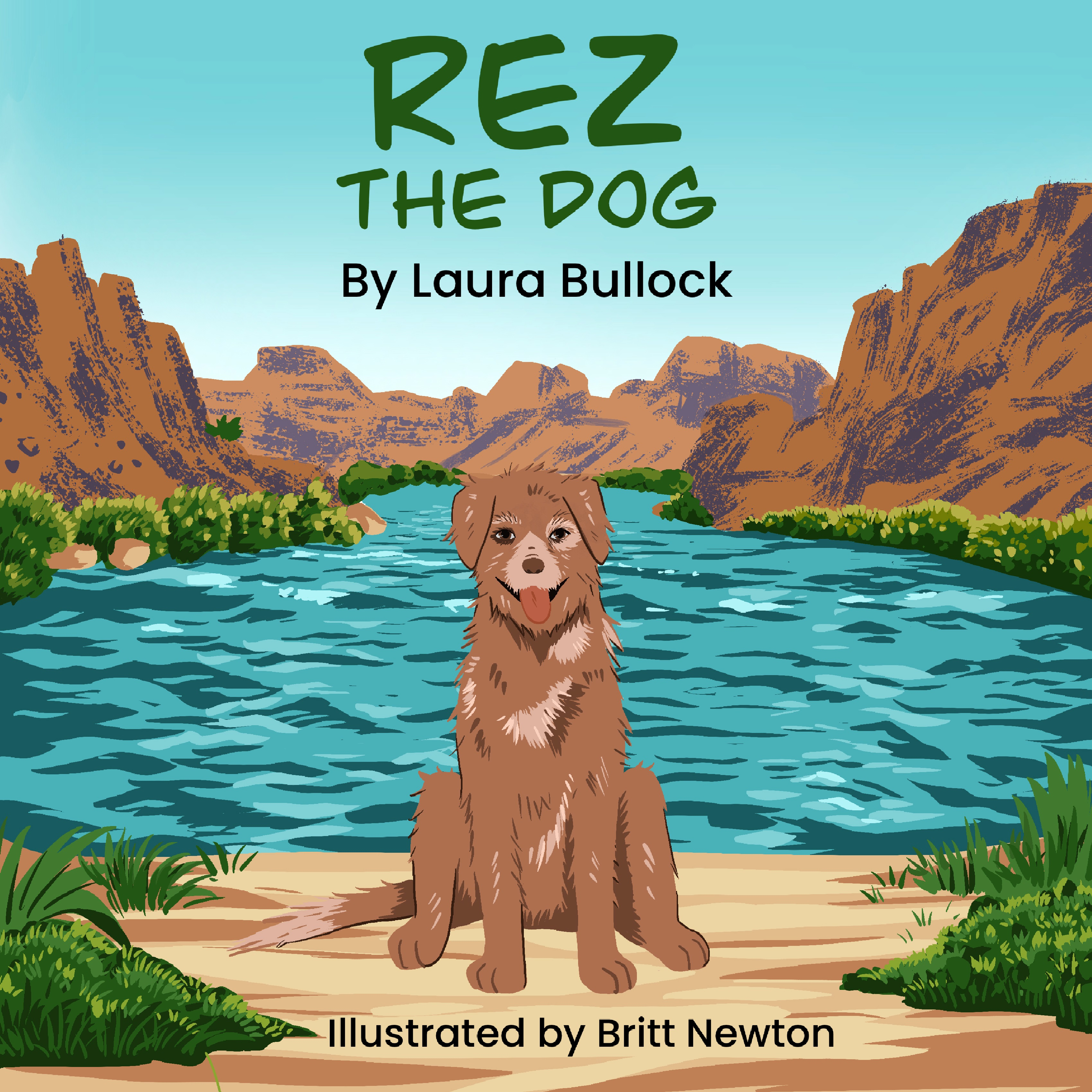 Rez The Dog .ebook Cover